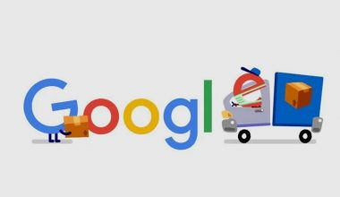 Google Says 'Thank You' To Delivery Staff With Hearts And A Colourful Doodle