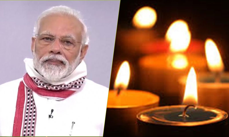 """Light Candles, Diyas To Fight Of The Corona Virus Darkness"" PM Modi"