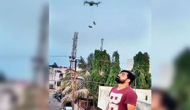 Lockdown in India Drones are Now Being Used for Pan Masala Delivery