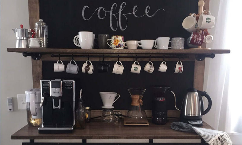 Love Coffee Create Your Very Own Coffee Station At Home