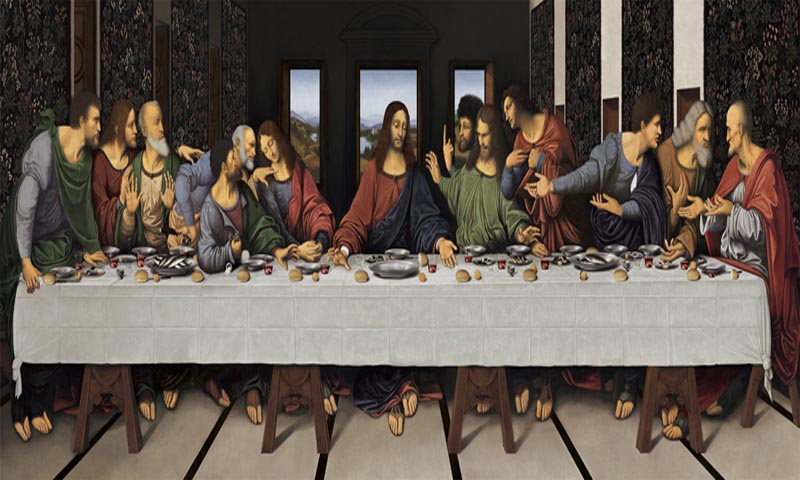 eonardo Da Vinci's Last Supper (Digital Re-Interpretation)