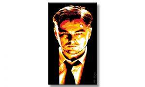 Digital Portrait Painting of DeCaprio