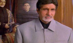 Amitabh Bachchan as Yashvardhan Raichand in Kabhi Khushi Kabhie Gham