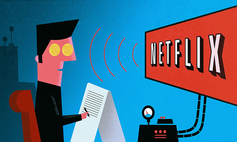 Netflix Now Streaming: Lazy Lifestyle and Poor Imagination!