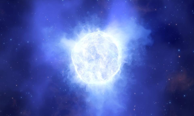 The Mystery of the Monster Star