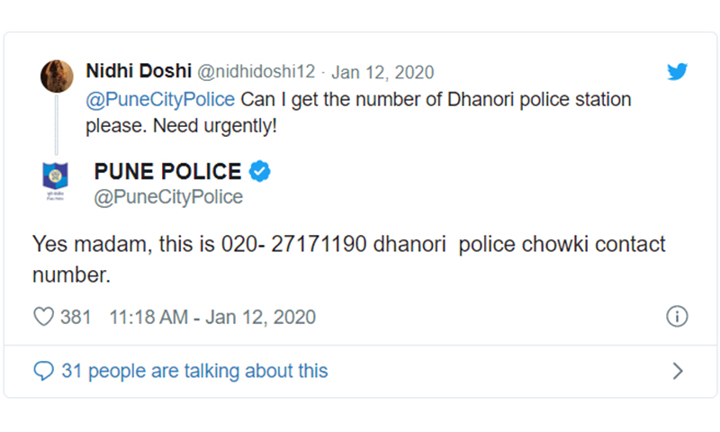 Epic Tweets by Police Departments