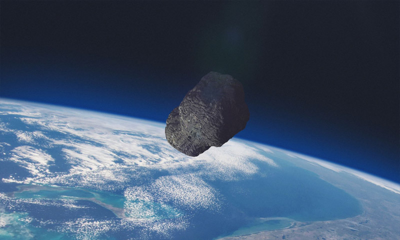 Asteroid Making a Close Fly-By Discovered by IIT Bombay Students