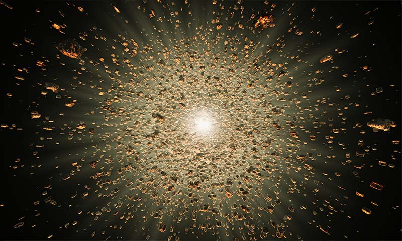 How Exploding Stars Forged the Calcium in Your Teeth