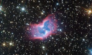 Massive Butterfly Nebula Spotted in the Vast Milky Way!