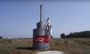 Massive Coca-Cola and Baking Soda Experiment by Russian YouTuber goes Viral