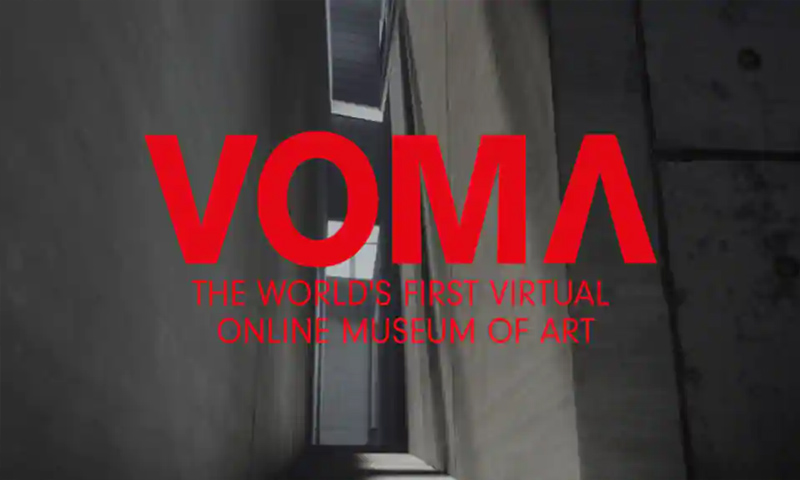 VOMA: The World's First Fully Interactive Virtual Museum